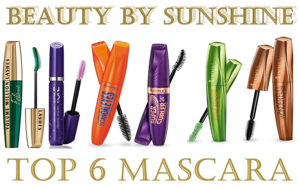 Top-6 mascara-beautybysunshinecom